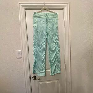 Lululemon Teal Studio Pants (unlined)